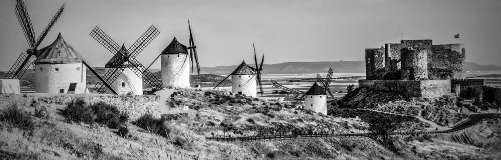 Väderkvarnar i Toledo